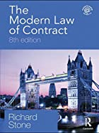 The Modern Law of Contract, 8th Edition by…