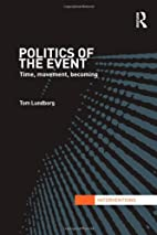 Politics of the event : time, movement,…