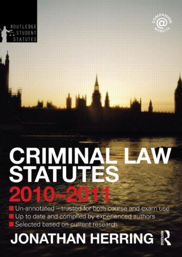 criminal-law-statutes-2010-2011-routledge-student-statutes