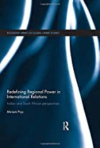 Redefining regional power in international…