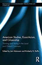 American Studies, Ecocriticism, and…