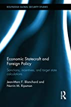 Economic Statecraft and Foreign Policy:…