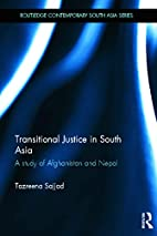 Transitional Justice in South Asia: A Study…
