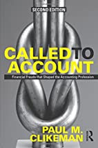 Called to Account: Financial Frauds that…