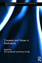 Concepts and Values in Biodiversity…