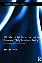 EU External Relations Law and the European…