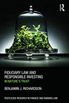 Fiduciary Law and Responsible Investing: In…