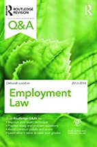 Q&A Employment Law 2013-2014 (Questions and…