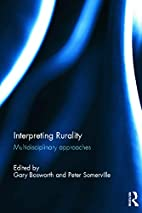 Interpreting Rurality: Multidisciplinary…