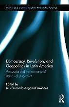 Democracy, revolution and geopolitics in…