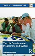 United Nations Development Programme and…