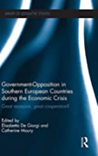 Government-Opposition in Southern European…