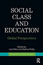 Social Class and Education: Global…
