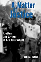 A Matter of Justice: Lesbians and Gay Men in…