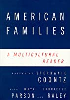 American Families: A Multicultural Reader by…