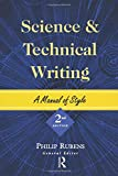 Rubens, Philip: Science and Technical Writing: A Manual of Style