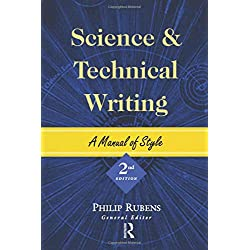 rubens philip ed. science and technical writing a manual of style