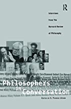 Philosophers in Conversation: Interviews…