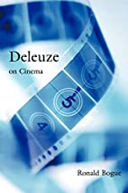 Deleuze on Cinema (Deleuze and the Arts, 1)…