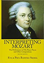 Interpreting Mozart: The Performance of His…