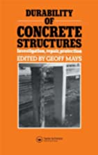 Durability of concrete structures :…