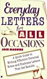 Maguire, Jack: Everyday Letters for All Occasions