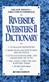 Unauthored: Riverside Webster's II Dictionary