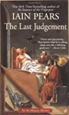 The Last Judgement by Iain Pears