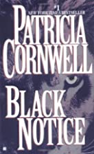 Black Notice by Patricia Cornwell