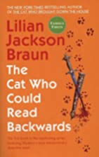 The Cat Who Could Read Backwards by Lilian…