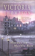 Murder on Marble Row : a gaslight mystery by…