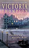 Thompson, Victoria: Murder on Marble Row (Gaslight Mystery)