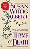 Albert, Susan Wittig: Thyme of Death