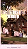 Kingsbury, Kate: AN Unmentionable Murder (A Manor House Mystery)