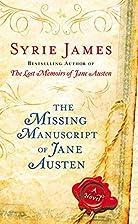 The Missing Manuscript of Jane Austen by…