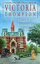 Murder on Amsterdam Avenue by Victoria…