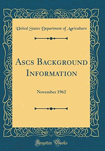 ascs-background-information-november-1962-classic-reprint