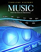 Music: From the Voice to Electronica…