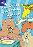 Allen, Jonathan: Rigby Star Shared Year 1/P2 Fiction: The Bear Who Wouldn't Share Shared Reading Pack Framework (Red Giant)