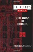 The Actor's Script: Script Analysis for…