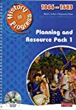 Collier, Martin: History in Progress: Teacher Planning and Resource Pack 1: 1066 - 1603