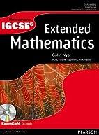 Heinemann IGCSE Extended Mathematics Student…
