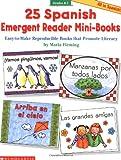 Fleming, Maria: 25 Spanish Emergent Reader Mini-books
