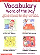 Vocabulary Word of the Day (Grades 3-6) by…