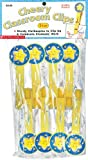Scholastic: Star Eight Delightful Clothespins. (Cherry Classroom Clips)