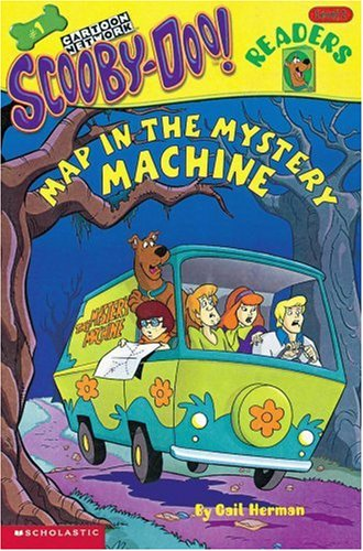 Map in the Mystery Machine