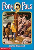 Betancourt, Jeanne: Lost and Found Pony (Pony Pals No. 29)