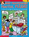 Greenberg, Dan: Funnybone Books: More Proofreading Practice, Please! Grade 4