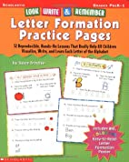 Look, Write & Remember Letter Formation…