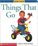 Valat, Pierre-Marie: Things That Go (First Discovery Look-Inside Board Books)